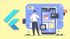 The Complete Flutter UI Masterclass | iOS, Android, & Web cover