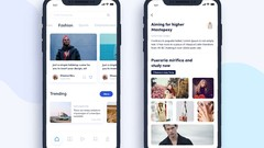 The Complete Flutter News App cover