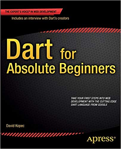 Dart for Absolute Beginners Cover