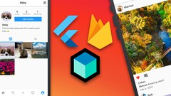 Flutter Firebase Bloc Instagram Clone | iOS and Android 2021 Cover